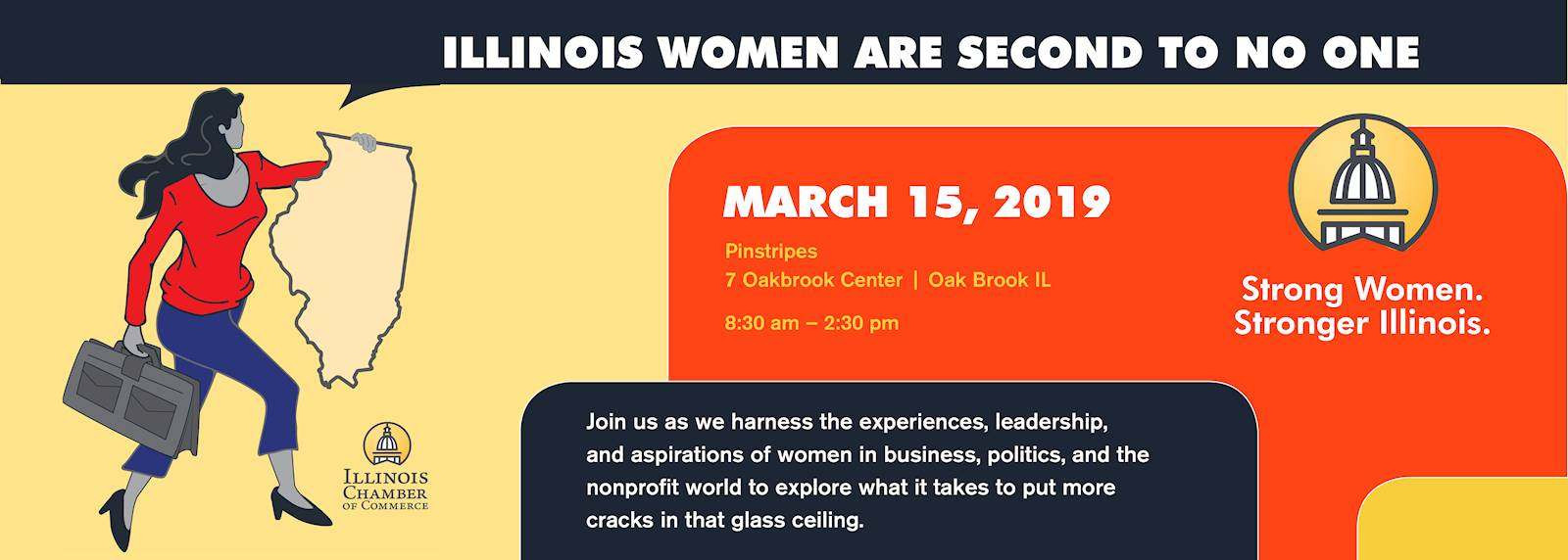 IL Chamber of Commerce 2019 Women In Business Conference