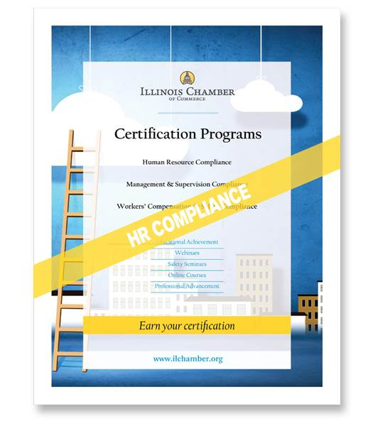 Hr Compliance Certificate Registration 36 Credits Il Chamber Of